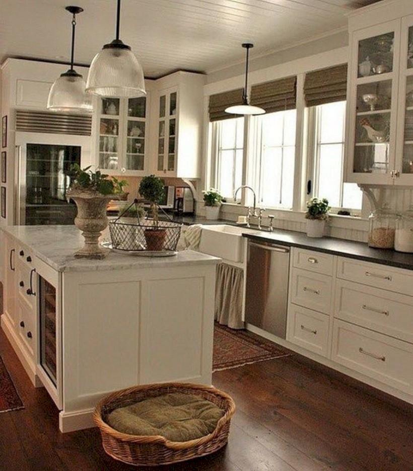 Beautiful gray kitchen cabinets design ideas 10