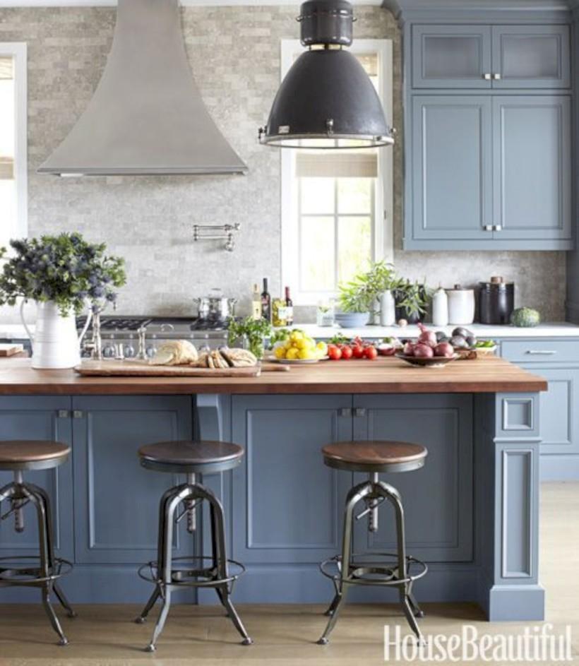Beautiful gray kitchen cabinets design ideas 30