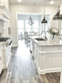 Beautiful gray kitchen cabinets design ideas 39