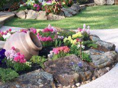 Beautiful rock garden landscaping ideas 06