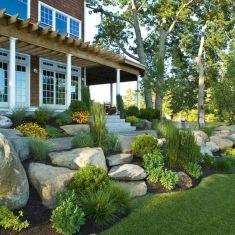 Beautiful rock garden landscaping ideas 07
