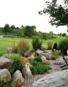 Beautiful rock garden landscaping ideas 15
