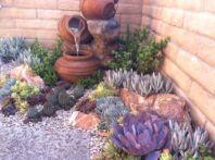 Beautiful rock garden landscaping ideas 22