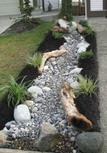 Beautiful rock garden landscaping ideas 30