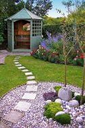 Beautiful rock garden landscaping ideas 34
