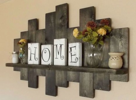 Brilliant diy rustic home decorating ideas 39