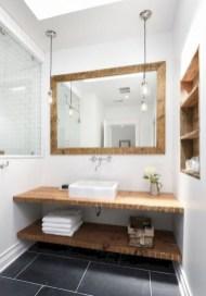Cool attic bathroom remodel ideas 30