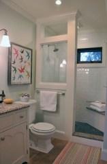Cool attic bathroom remodel ideas 35