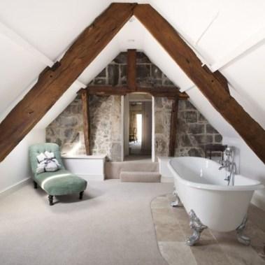 Cool attic bathroom remodel ideas 39