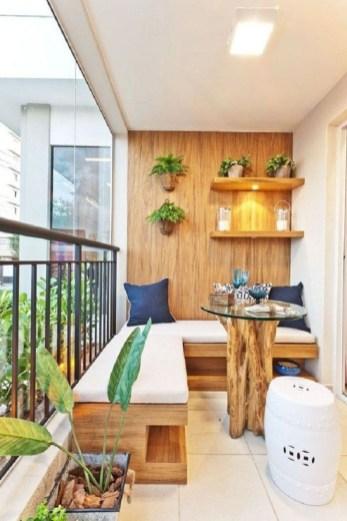Cozy small balcony design decoration ideas 05
