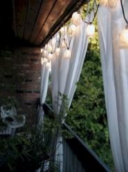 Cozy small balcony design decoration ideas 38