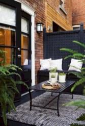 Cozy small balcony design decoration ideas 40