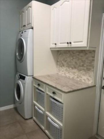 Creative small laundry room organization ideas 19