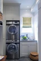 Creative small laundry room organization ideas 20