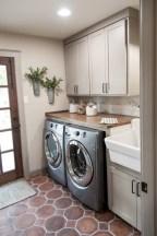 Creative small laundry room organization ideas 21