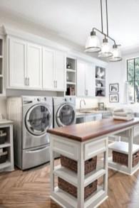 Creative small laundry room organization ideas 24