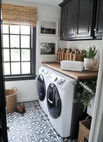 Creative small laundry room organization ideas 26