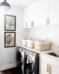 Creative small laundry room organization ideas 32