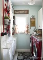 Creative small laundry room organization ideas 34
