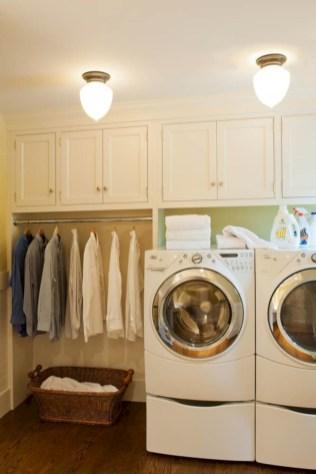 Creative small laundry room organization ideas 39