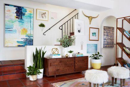 Easy diy rental apartment decoration ideas 07