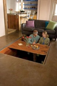 Genius small dining room table design ideas 05