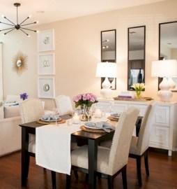 Genius small dining room table design ideas 14