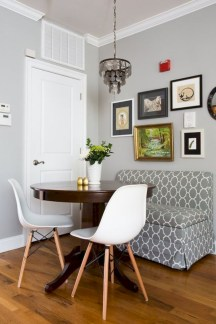 Genius small dining room table design ideas 21