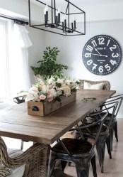 Genius small dining room table design ideas 30