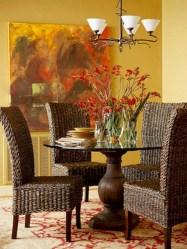 Genius small dining room table design ideas 31