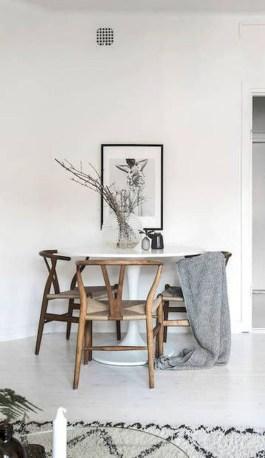 Genius small dining room table design ideas 42