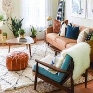 Mid century modern living room furniture ideas 11