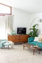 Mid century modern living room furniture ideas 18