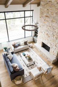 Mid century modern living room furniture ideas 36
