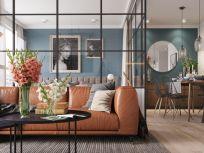Mid century modern living room furniture ideas 39
