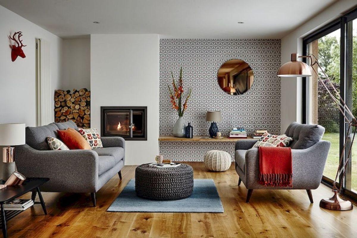 Mid century modern living room furniture ideas 45