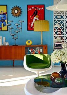 Mid century modern living room furniture ideas 47