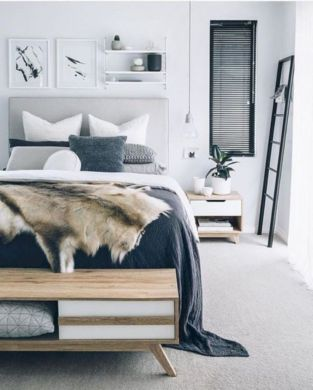 Modern scandinavian bedroom designs ideas 24