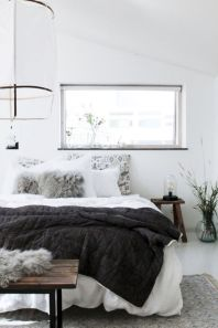 Modern scandinavian bedroom designs ideas 45