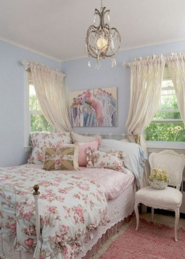 Romantic shabby chic bedroom decorating ideas 13