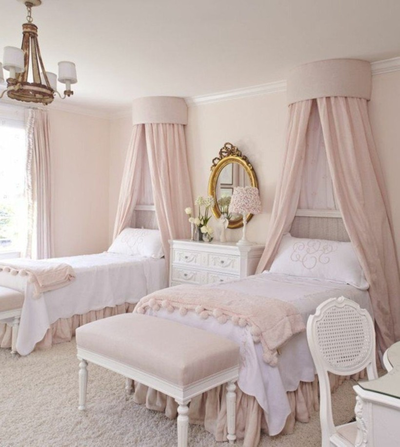 Romantic shabby chic bedroom decorating ideas 21