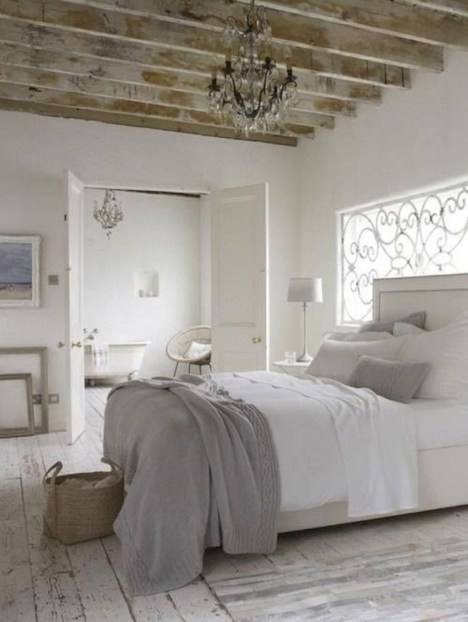 Romantic shabby chic bedroom decorating ideas 43