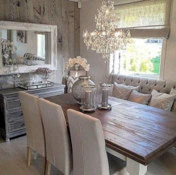 Rustic farmhouse dining room table decor ideas 09
