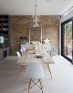 Rustic farmhouse dining room table decor ideas 11
