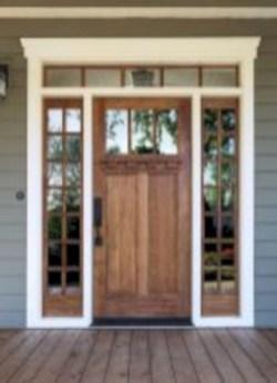 Rustic farmhouse porch steps decor ideas 18