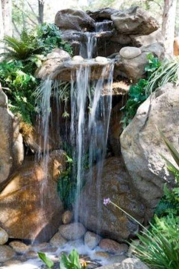 Small backyard waterfall design ideas 03