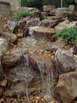 Small backyard waterfall design ideas 13