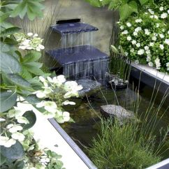 Small backyard waterfall design ideas 29