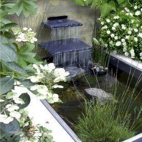 Small backyard waterfall design ideas 29
