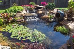Small backyard waterfall design ideas 30